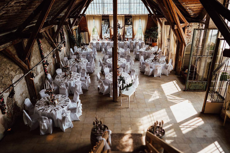 Hochzeitsfotograf Essen Schloss Deko