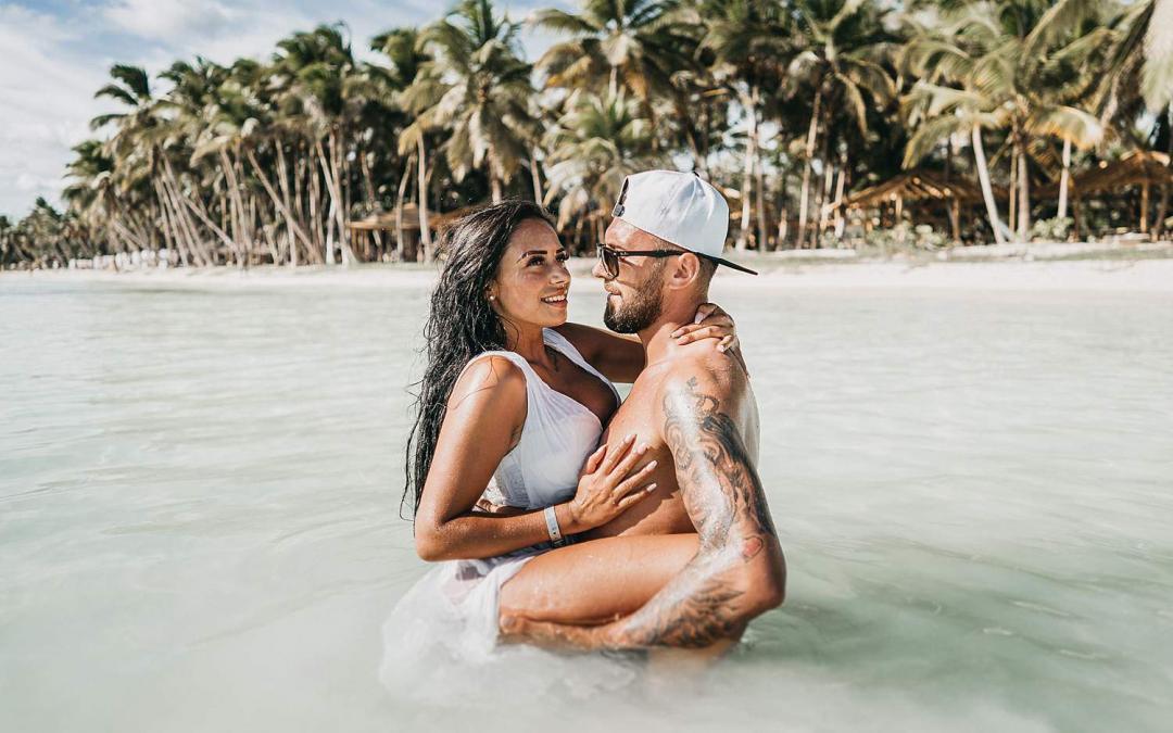 Paar-Shooting in der Karibik