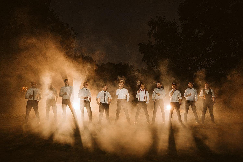 Hochzeit Brautpaar-Shooting Rauch
